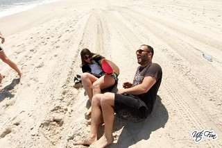 Fire Island Pines May 12 & 13; Walk Jessica Zac Sand 1 | by Vito Fun