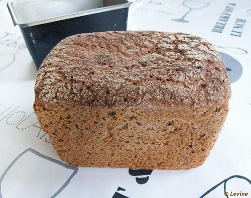how to make dark rye bread in bread machine