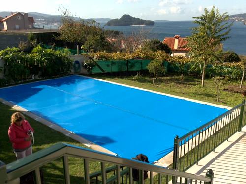 Cobertor invierno gran tama o piscina 12 x 6 gran - Cobertor piscina invierno ...