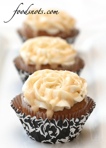 Salted Caramel Cupcakes | by Recipe Snob