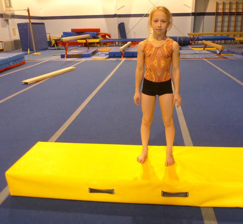 Gymnastics Spotting Box