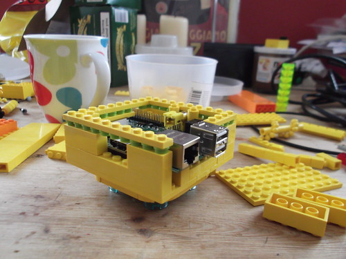 Raspberry Pi Lego case | by pikesley