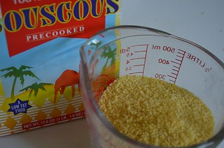 couscous in glass measuring cup | by myhalalkitchen2
