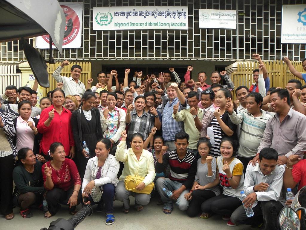 2016-6-19 Cambodia: CDWN & IDEA forum on promoting DWs rights