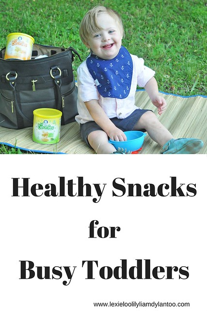 Healthy Snacks for Busy Toddlers