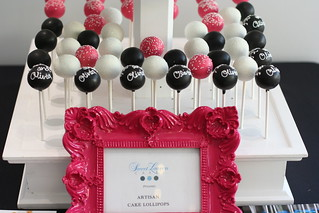 Alice and Olivia Cake Pops | by Sweet Lauren Cakes