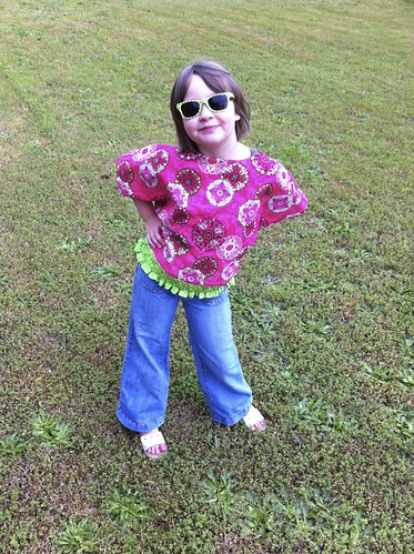 Kids Tulip Blouse | by Sew Spoiled