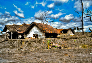 After The Eruption Of Merapi Mountain | by Vanfafan