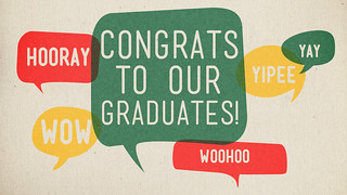 Congrats to our Grads | by Megan Watson Design