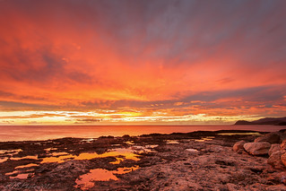 Fire in the Sky at Ko'Olina III | by rayman102