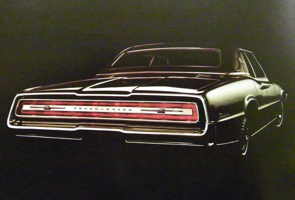 1967 Ford Thunderbird Landau 4 Door
