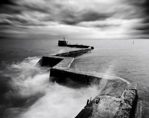 Zscape (B/W) | by kenny barker