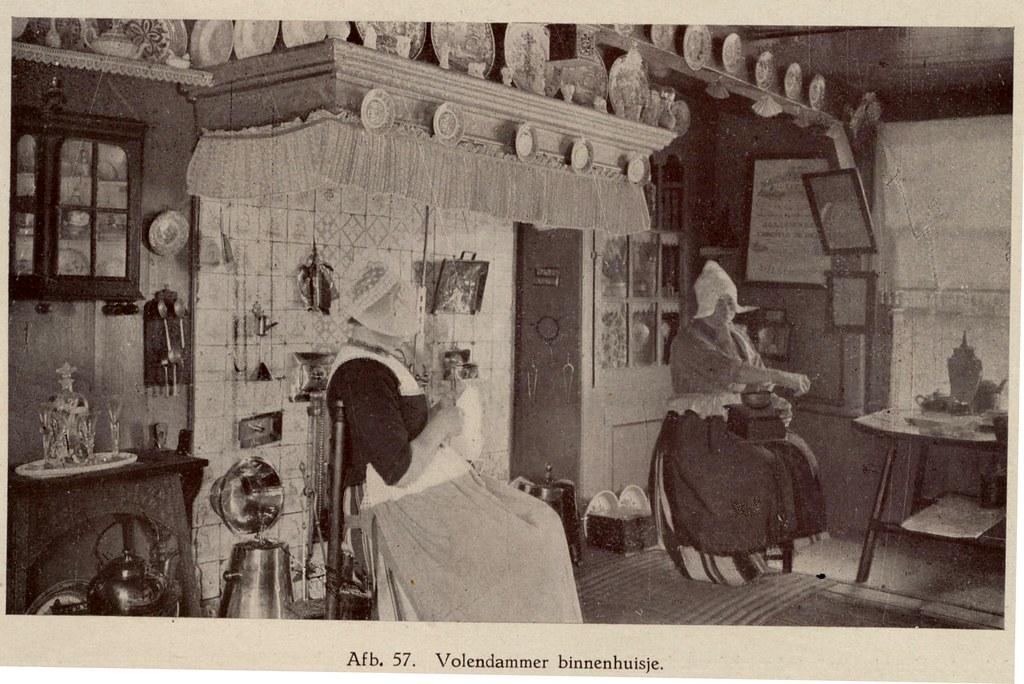 Volendam interieur 1920 | janwillemsen | Flickr