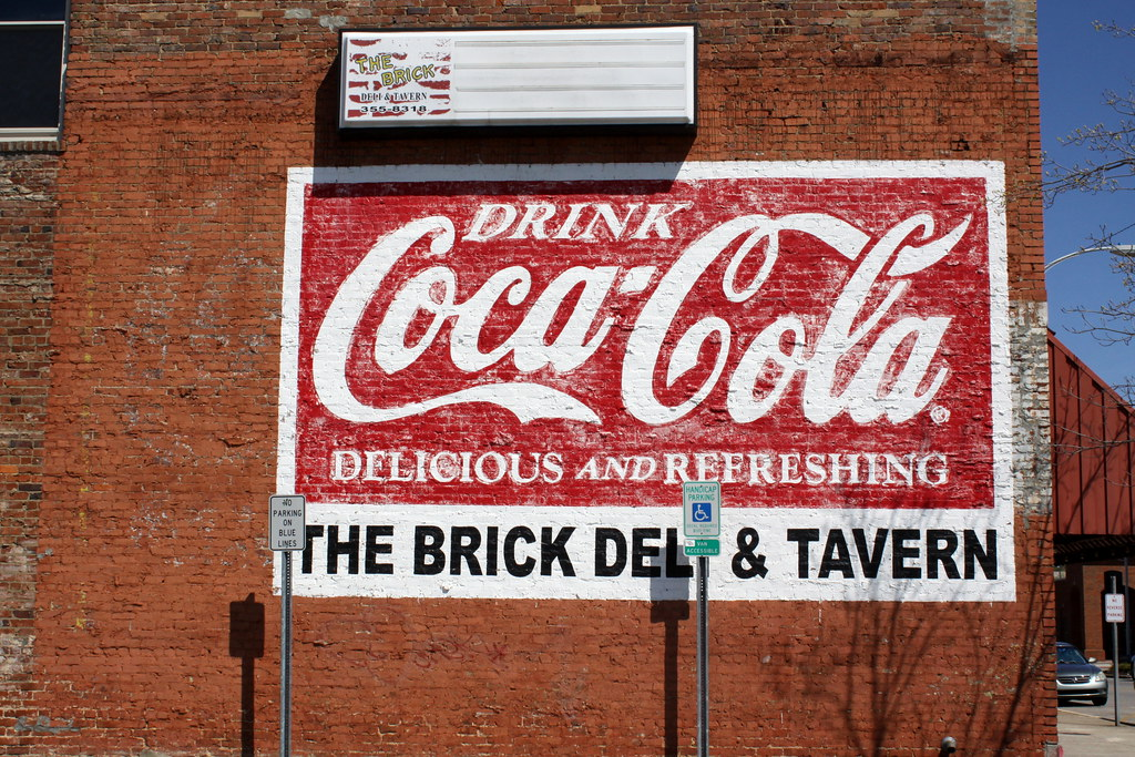 Coca-Cola mural - Decatur, AL