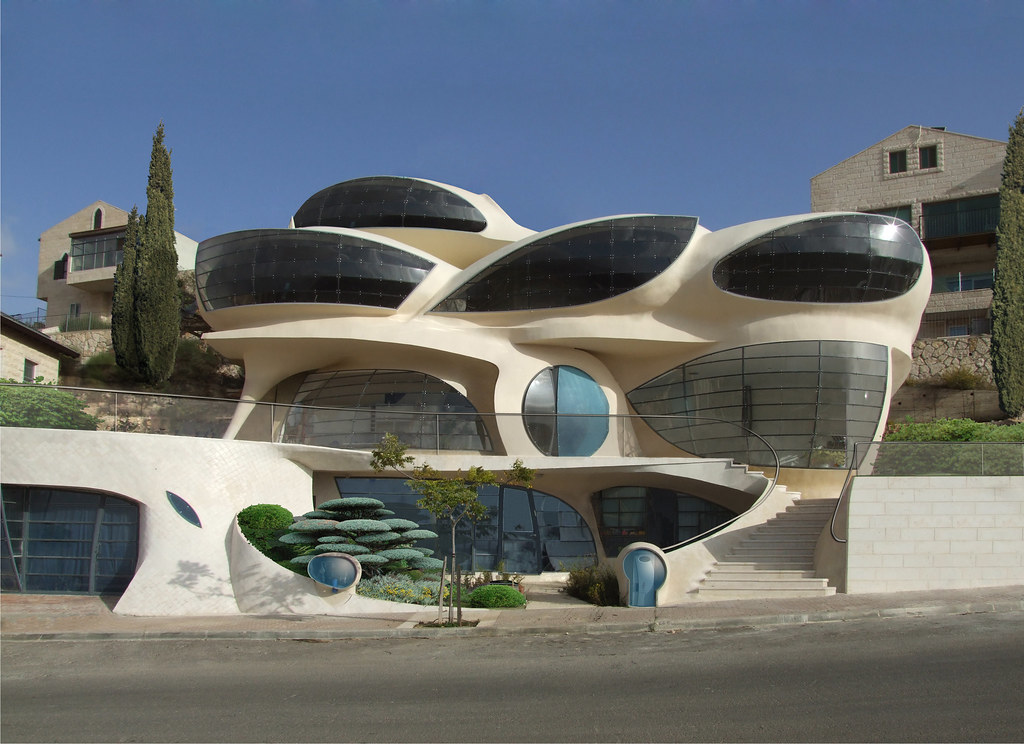Futuristic House Prepossessing Futuristic House  Biomorphismephraimhenry Pavie  Flickr Decorating Inspiration