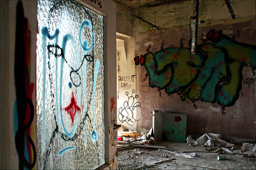 abandoned art in the food factory | by alias URBAN ARTefakte