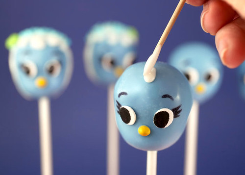 Blue Bird Cake Pops | by Bakerella