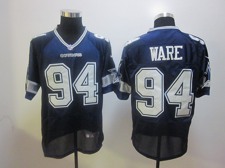 watch 947b8 d251a Nike NFL Dallas Cowboys #94 DeMarcus Ware blue jersey | Flickr