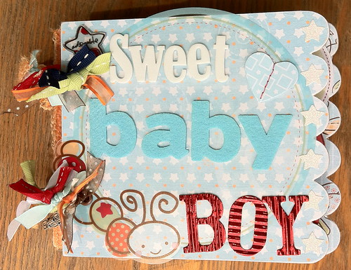 BabyMiniAlbumLYBSnuggleBug_Front | by Carrie_Stedt