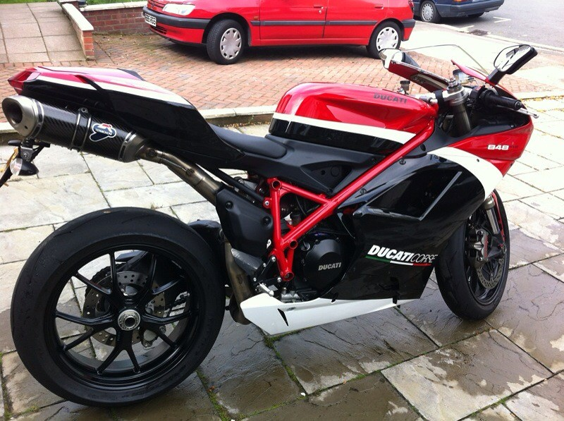 Ade's new 1098R