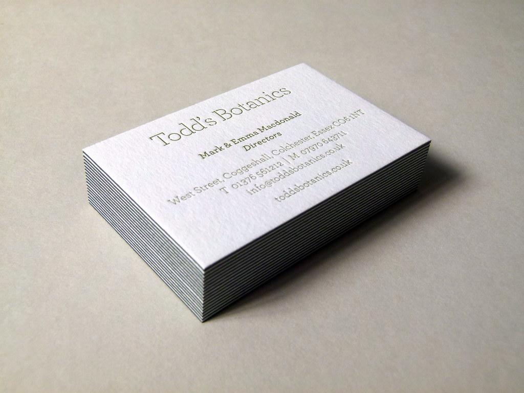 Letterpress business cards printed debossed onto 810gsm flickr letterpress business cards printed debossed onto 810gsm colorplan duplex card stock 1 colourmoves