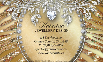 Business Cards For Fashion Jewelry