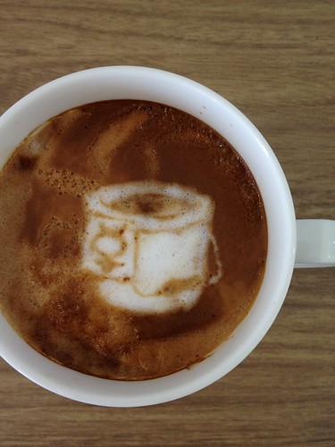 Today's latte, bitbucket. | by yukop