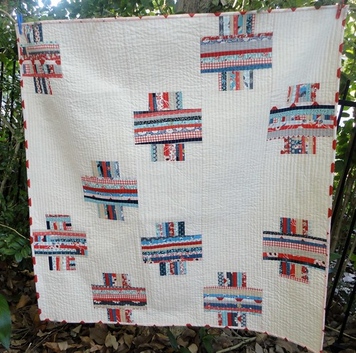 Crossed Block quilt | by staceyl2011