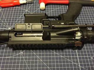 TM HK416C removing upper