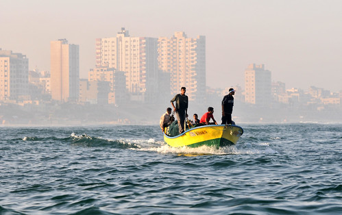 Fishing off the Coast of Gaza | by United Nations Photo