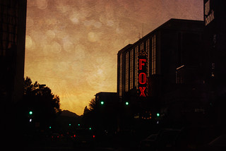 Downtown Tucson Fox Theater Sunset Texturized | by Le.Sanchez