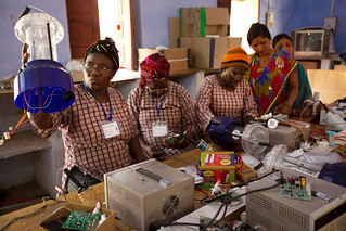 New African solar technicians, each ready to electrify her home village for the first time | by UN Women Gallery