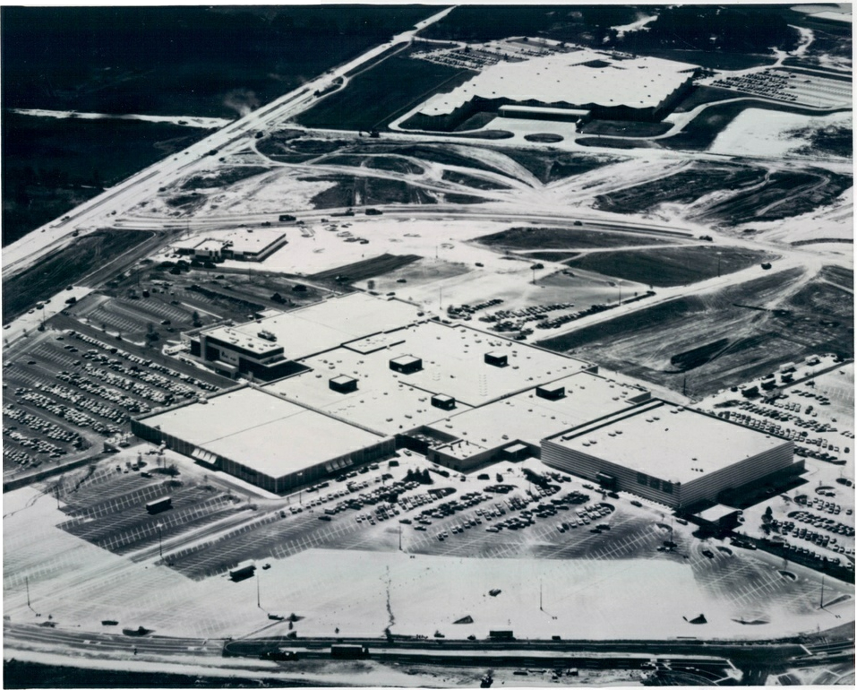 Lakehurst Mall aerial - 8/15/71