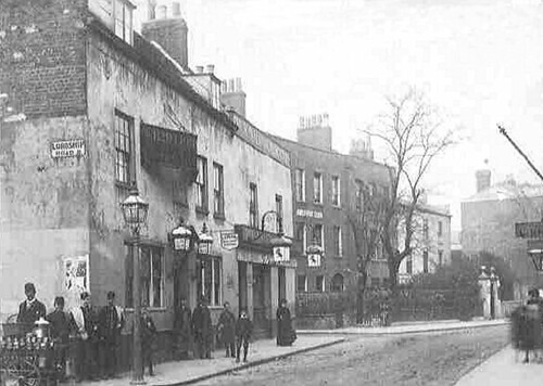 Red Lion Stoke Newington Middlesex C1890 From My Coll Flickr