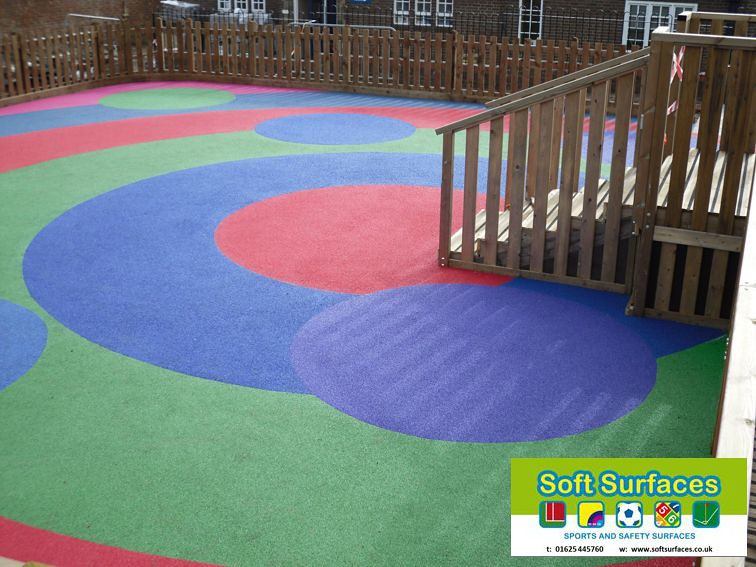 Rubber Soft Bouncy Tarmac Playground Safety Spongy Surface Flickr - Spongy outdoor flooring