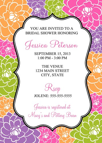 Bridal Shower Invitation | by jessica91582