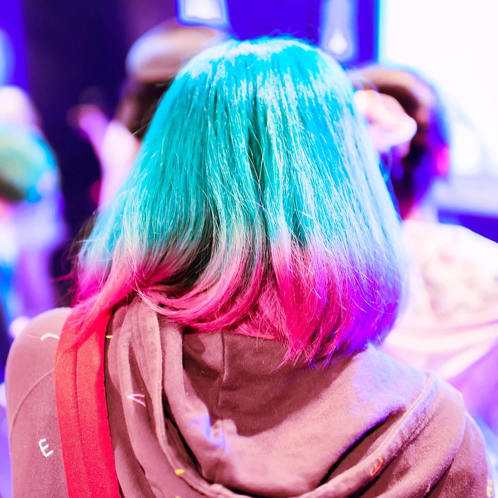 Harajuku Hair Color Super Colorful Pink Purple Green Blue Flickr