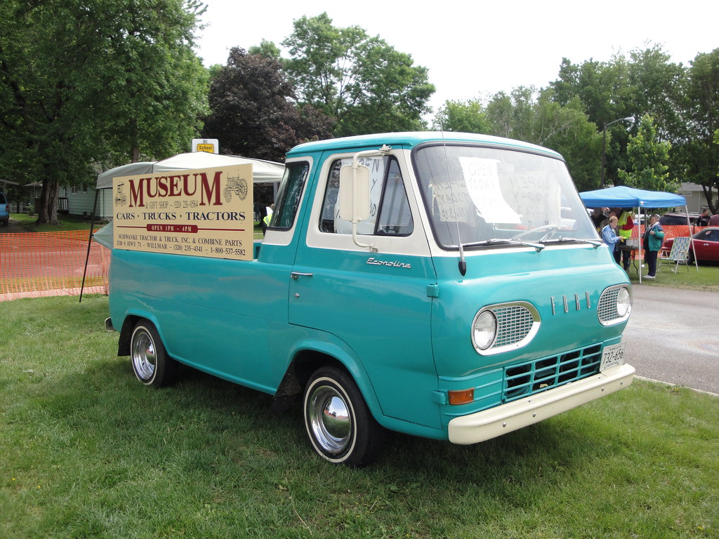 1964 Ford Econoline Pick Up The Weather Was Not Completely Flickr Van By Dvs1mn