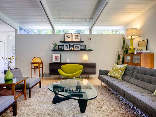 Mid-century-Home-Renovation-Living-Room-Design | by elevenhounds