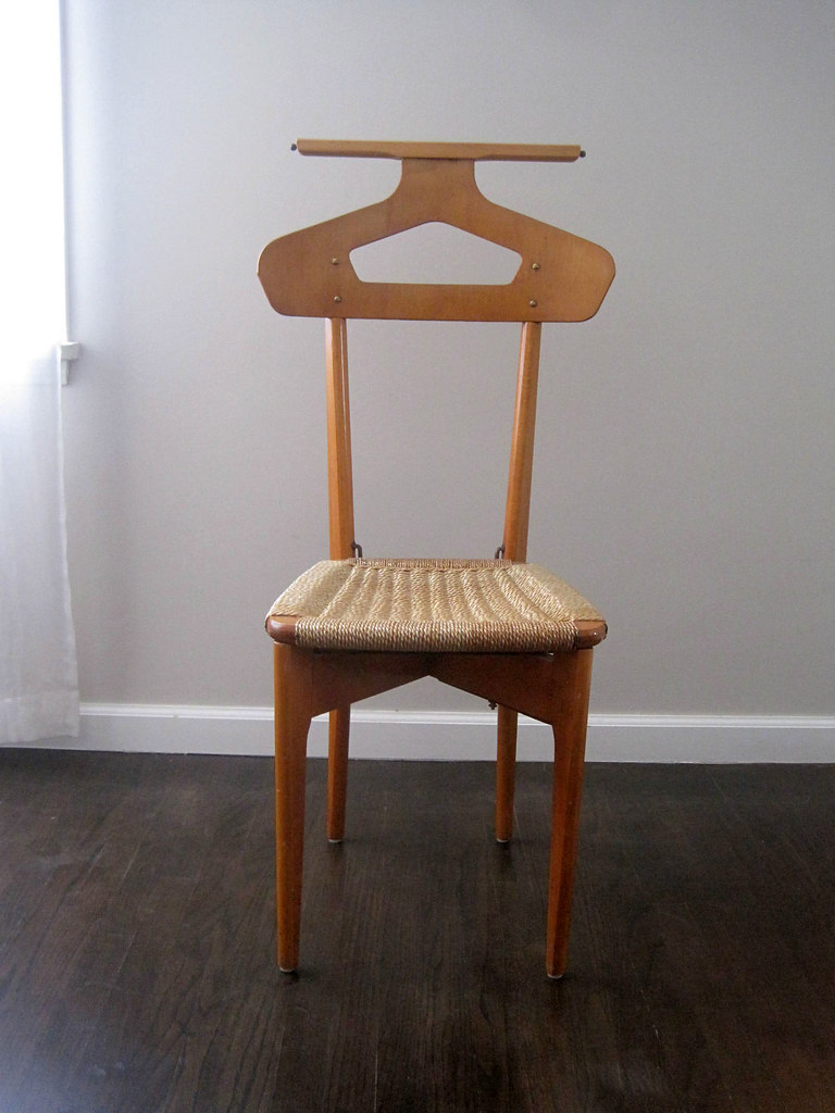 ... Mid Century Italian Menu0027s Dressing Butler Valet Chair | By RhanVintage