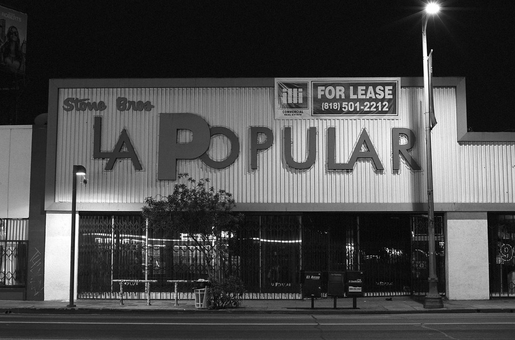 ... The Former L.A. Popular Furniture Store | By F Is For Film