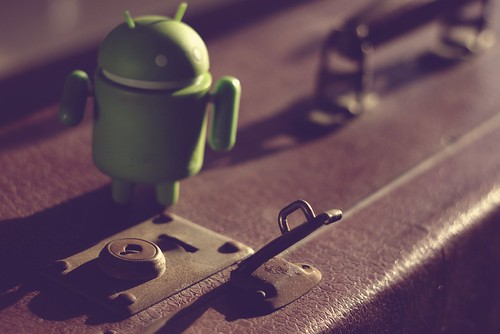 Android going to travel vintage | by senza senso