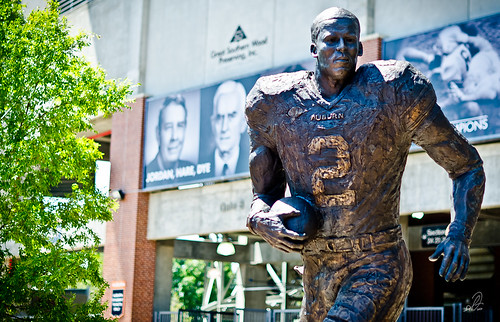 Auburn University Cam Newton Heisman Trophy Statue | by scottfillmer