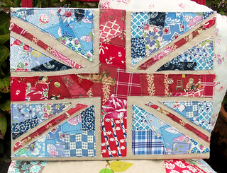Scrappy Union Jack | by Bustle & Sew