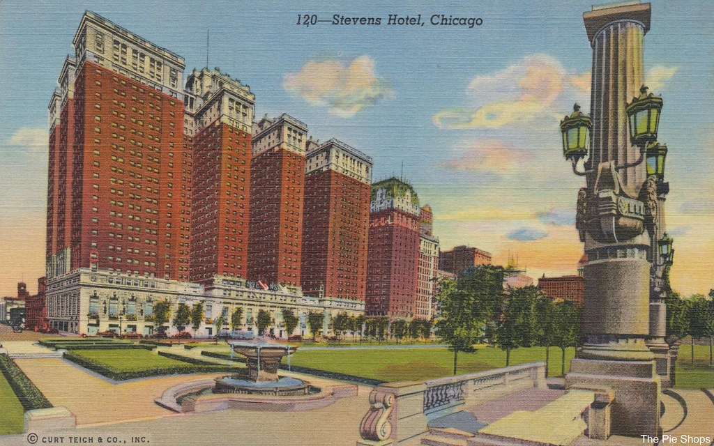 The Stevens Hotel - Chicago, Illinois