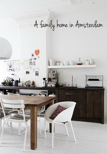 a stunning family home in amsterdam | by the style files