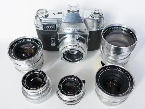 Rodenstock interchangeable lenses for Kodak Retina and others | by Calvin Lee a.k.a calvin83