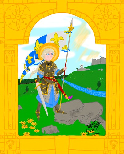 Saint Jeanne d'Arc | by Doodstormer