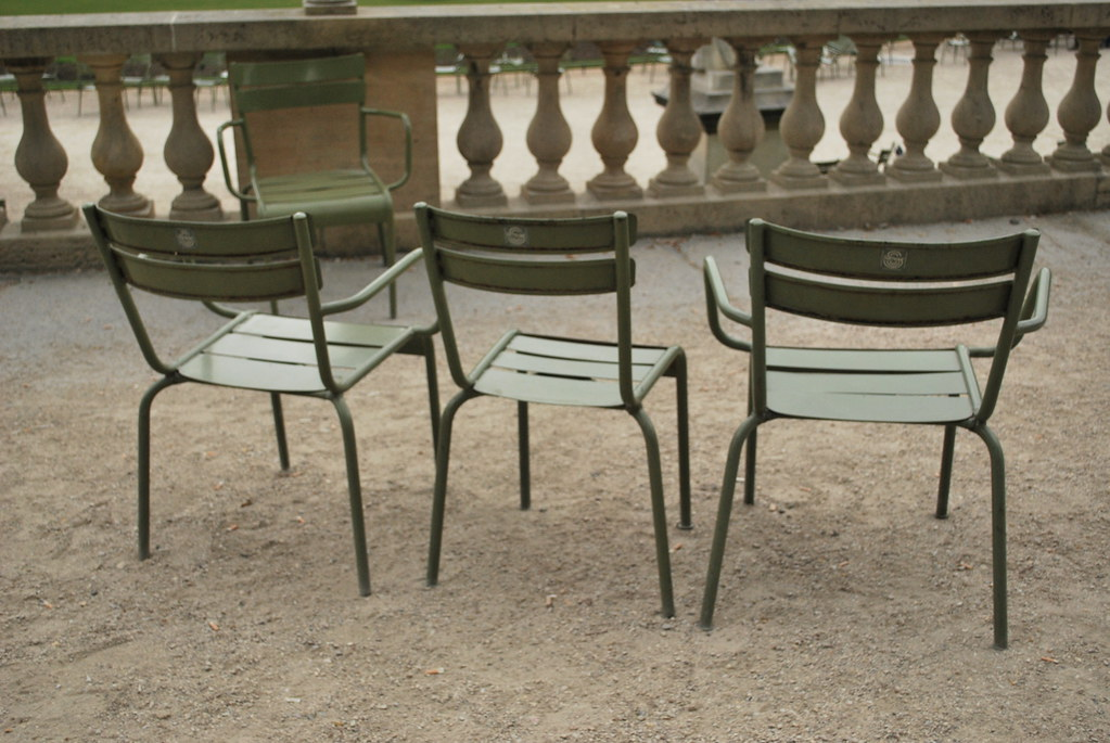 Chaises De Jardins De Luxembourg