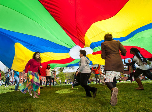 Parachute | by Mount Holyoke College Communications Office